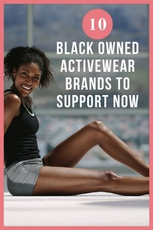 black owned activewear brands pinterest pin