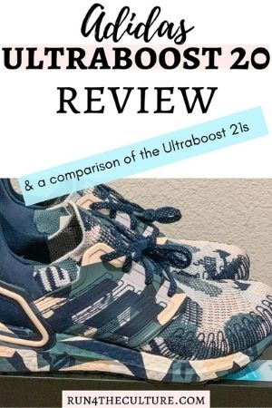 Pinterest Pin for Ultraboost 20 Prime Blue Shoe review